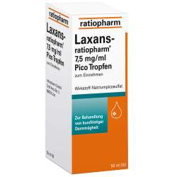 Laxans-ratiopharm® 7,5mg/ml Pico Tropf. 50ml