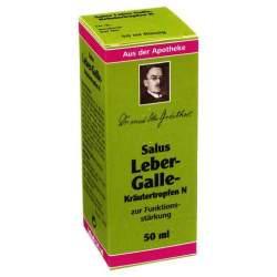 Leber-Galle-Kräutertropfen N Salus 50 ml