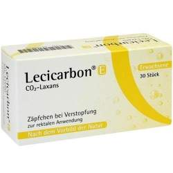 Lecicarbon® E CO2-Laxans 30 Supp.