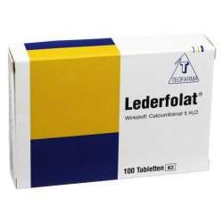 Lederfolat® 100 Tbl.