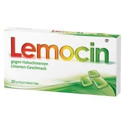 Lemocin gegen Halsschmerzen 20 Lutschtbl.