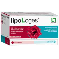 lipoLoges® 90 Kaps. morgens + 90 Kaps. abends
