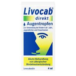 Livocab® direkt Augentropfen, 0,05% 4ml Susp.
