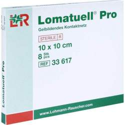 Lomatuell® Pro 8 Wundauflagen 10x 10 cm