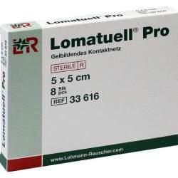 Lomatuell® Pro 8 Wundauflagen 5x 5 cm
