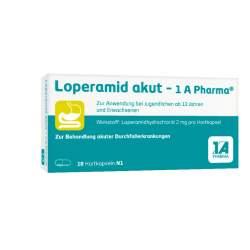 Loperamid akut - 1 A Pharma® 10 Hartkaps.