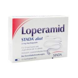 Loperamid STADA® akut 10 Hartkaps.