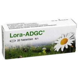 Lora-ADGC® 10 mg, 20 Tabletten