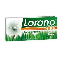 Lorano® akut 10mg 14 Tbl.
