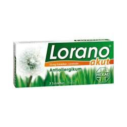 Lorano® akut 10mg 7 Tbl.