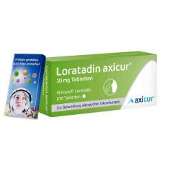 Loratadin axicur® 10 mg 100 Tabletten