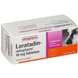 Loratadin-ratiopharm® 10 mg 100 Tbl.