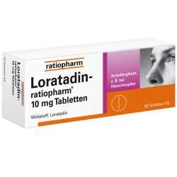 Loratadin-ratiopharm® 10 mg 50 Tbl.