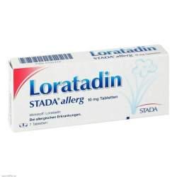 Loratadin STADA® allerg 10mg 7 Tbl.