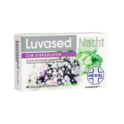 Luvased® Nacht zum Einschlafen 40 überz. Tbl.