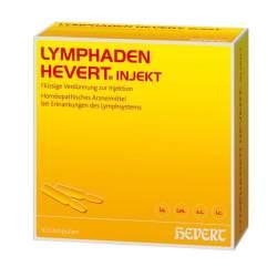 Lymphaden Hevert injekt 100 Amp.