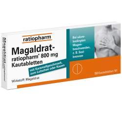 Magaldrat-ratiopharm® 800mg 50 Kautbl.