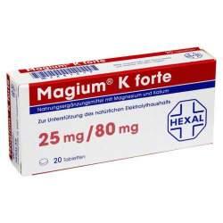 Magium® K forte 20 Tbl.