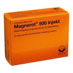 magnerot® 500 Injekt 10x5ml