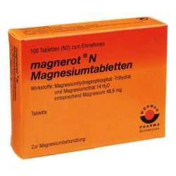 magnerot® N Magnesiumtabletten 100 Tbl.