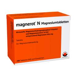 magnerot® N Magnesiumtabletten 200 Tbl.