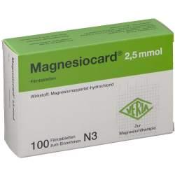 Magnesiocard® 2,5mmol 100 Filmtbl.