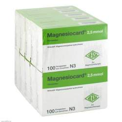 Magnesiocard® 2,5mmol 1000 (10x100) Filmtbl.
