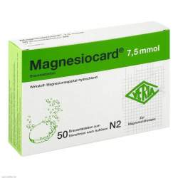 Magnesiocard® 7,5mmol 50 Brausetbl.