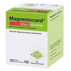 Magnesiocard® retard 15 mmol 30 Btl.