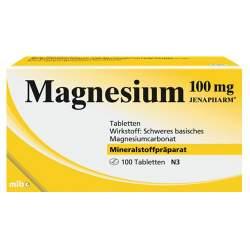 Magnesium 100mg JENAPHARM® 100 Tbl.