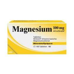 Magnesium 100mg JENAPHARM® 50 Tbl.