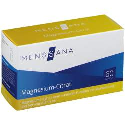 Magnesium-Citrat MensSana® 60 Kapseln