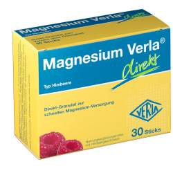 Magnesium Verla® direkt 30 Himbeere-Sticks