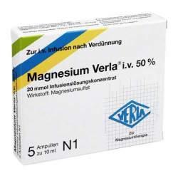 Magnesium Verla® i.v. 50% Inf.lsg.konz. 5 Amp