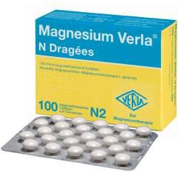 Magnesium Verla® N 100 Drg.