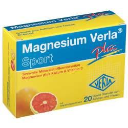 Magnesium Verla® plus Granulat 20 Btl.