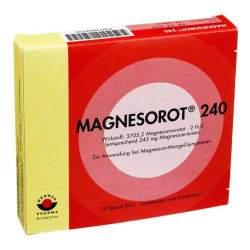 MAGNESOROT 240® Suspension zum Einnehmen 10 Btl.