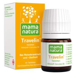 Mama natura Travelin DHU 40 Reisetabletten