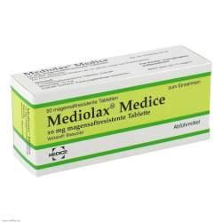 Mediolax® Medice 10 mg 50 magensaftresistente Tabletten