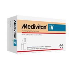 Medivitan® iV Ampullen 5 mg, 1 mg, 1,05 mg Injektionslösung 2x 8 Amp.