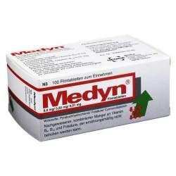 Medyn® 8,0 mg/0,20 mg/0,01 mg, 100 Filmtabletten