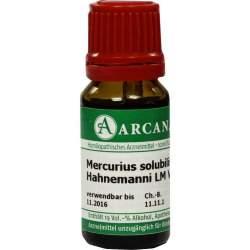 Mercurius Solubilis Arcana LM 6 Hahnemanni Dilution 10ml