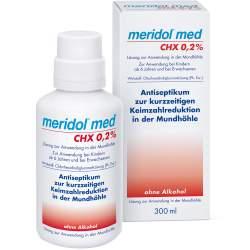 meridol® med CHX 0,2 %, Lösung zur Anwendung in der Mundhöhle 300ml