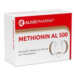 Methionin AL 500 50 Filmtbl.