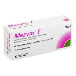 Mezym® F 10 000 Ph.-Eur.-Einheiten Lipase, 50 Magensaftresistente Tabletten