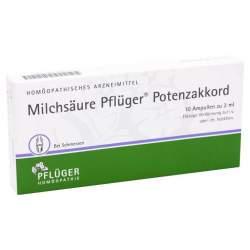 Milchsäure Pflüger® Potenzakkord 10 Amp.