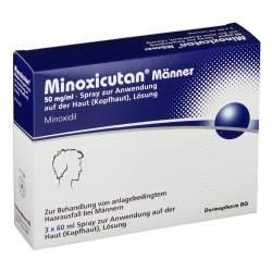 Minoxicutan® Männer 50 mg/ml Spray zur Anwendung auf der Haut 3x60ml