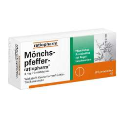Mönchspfeffer-ratiopharm® 60 Filmtbl.