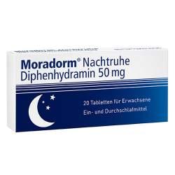 Moradorm® Nachtruhe Diphenhydramin 50 mg 20 Tbl.
