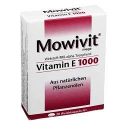 Mowivit® Vitamin E 1000 20 Kapseln